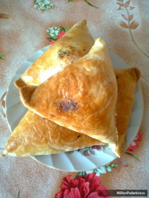 Узбекская самса рецепт с пошаговый рецепт с