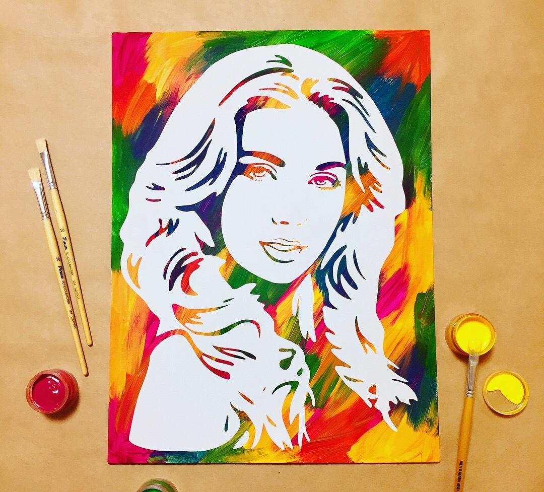 Как сделать свой портрет своими руками 3