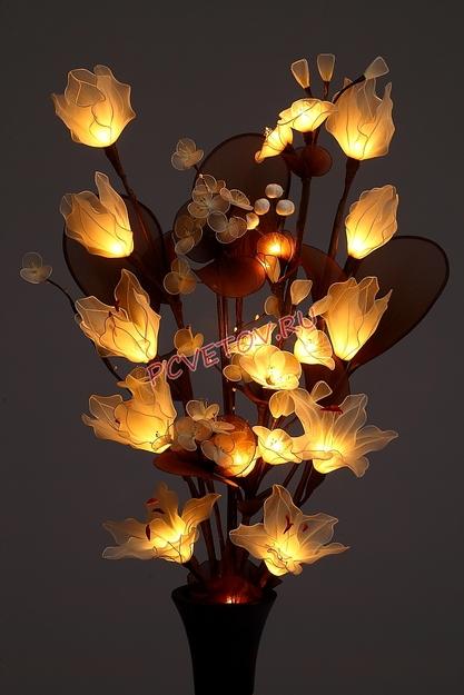 Где купить светильник цветы