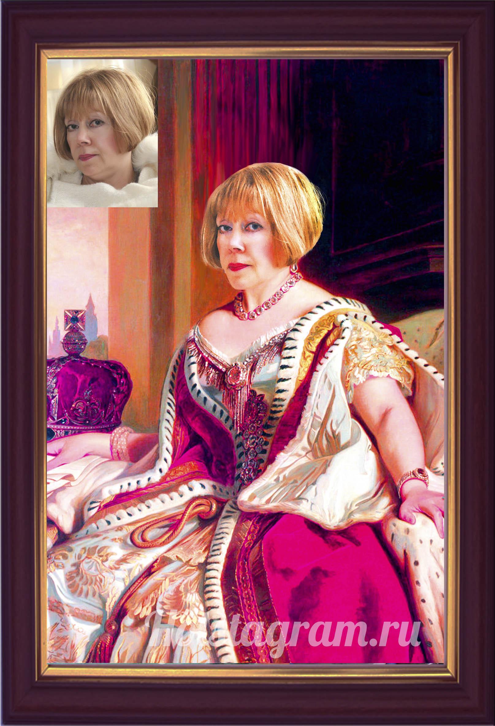 Портрет по картина в подарок