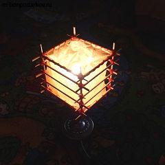 светильник из палочек для суши своими руками видео этом видео, кратко