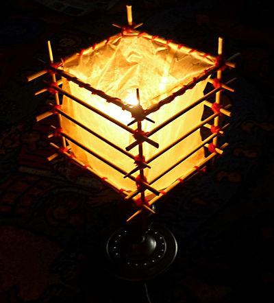 Деревянный китайский фонарик своими руками 64