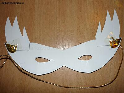 Как сделать крепление к маске