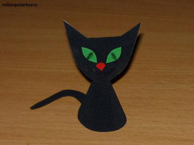 Поделки из бумаги кошек своими руками