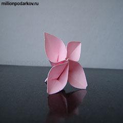 Сделать сакуру своими руками из бумаги