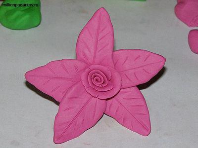Волшебный цветок поделка