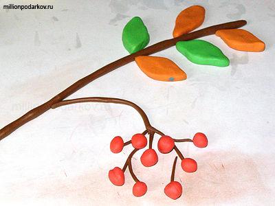 Поделки из пластилина в детский сад на тему осень 80