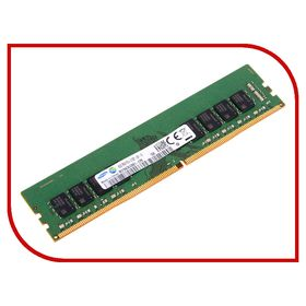 Модуль памяти Kingston DDR4 DIMM 2400MHz PC4-19200 CL17 - 16Gb KVR24N17D8/16