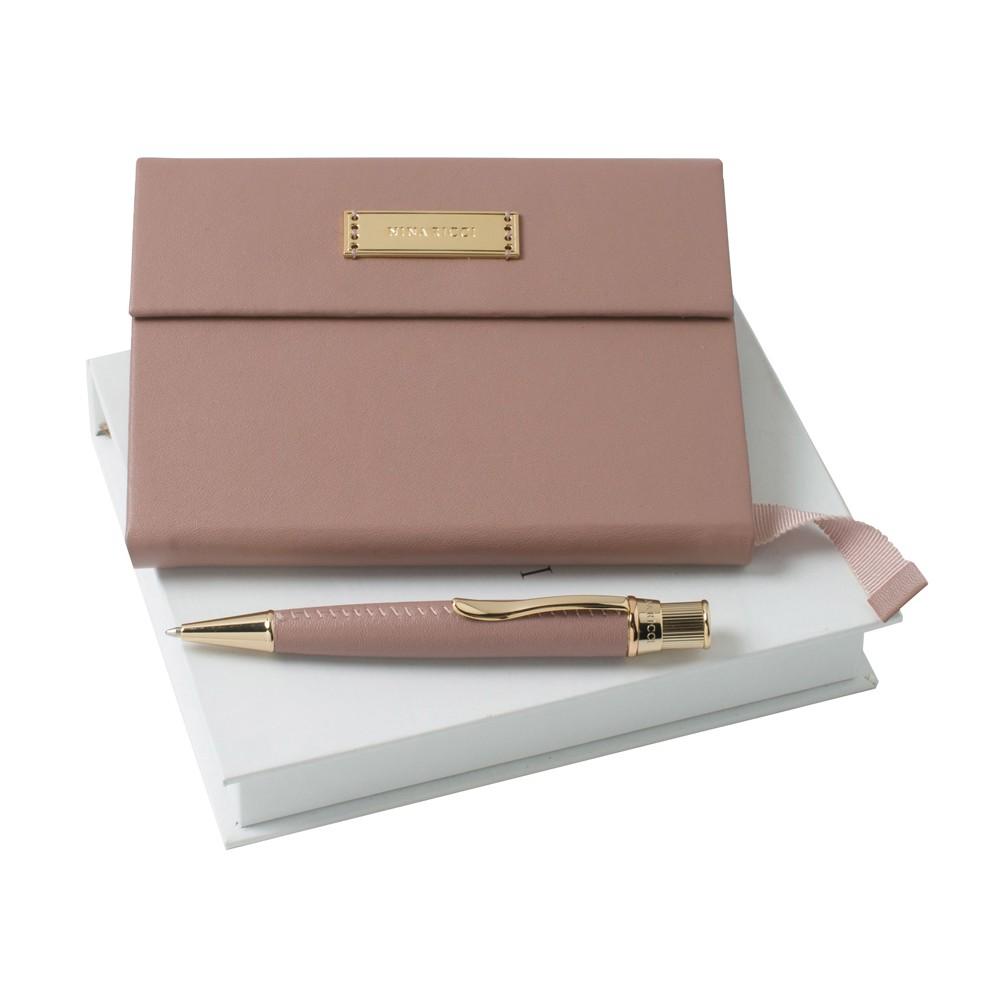 Блокнот с ручкой в подарок 523
