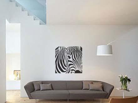 Наклейки на стену превращают пустые стены в дизайнерские, легко