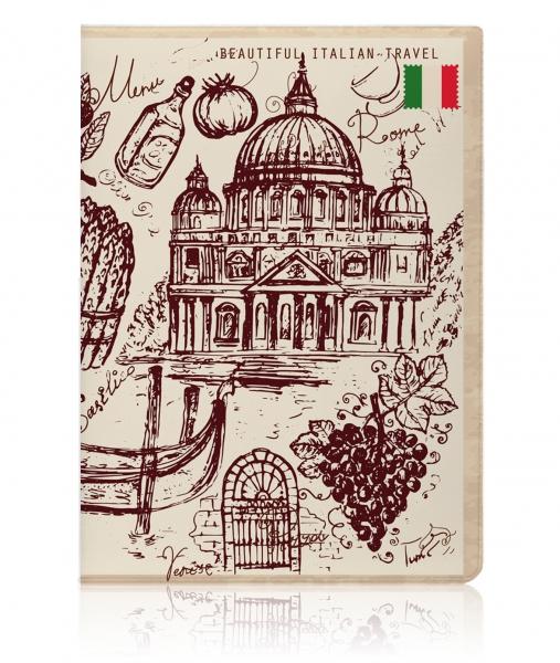 Обложка для паспорта с индивидуальным дизайном