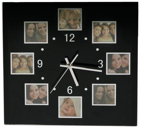 Часы коллаж своими руками