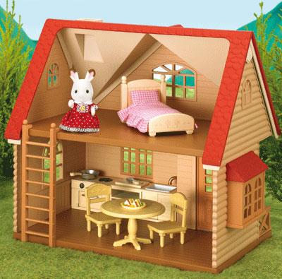 Домики для маленьких игрушек