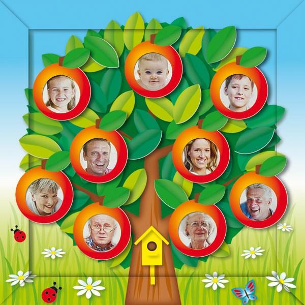Дерево семьи своими руками фото