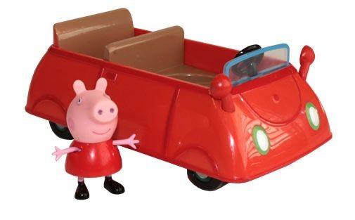 Игра Семья едет на машине Свинка Пеппа играть онлайн