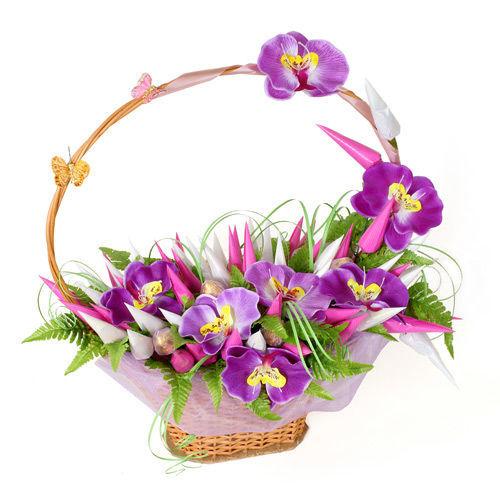 Орхидея девушке в подарок 83