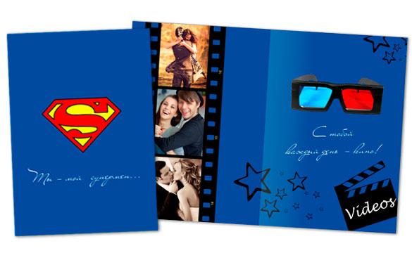 Открытка с суперменом своими руками 25