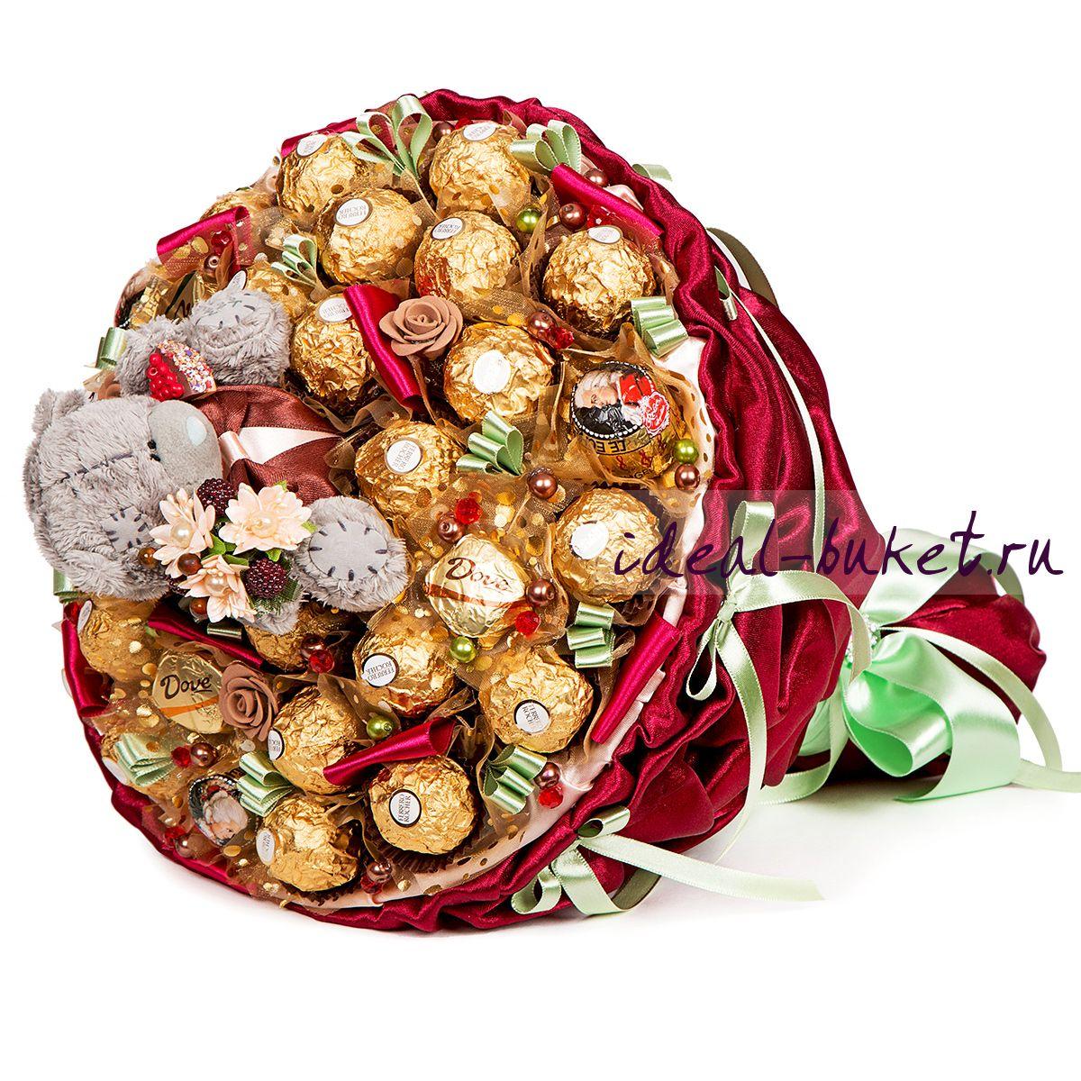 Букет из конфет это подарок 376