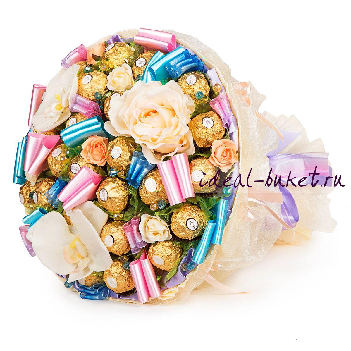 Букет из конфет это подарок 86