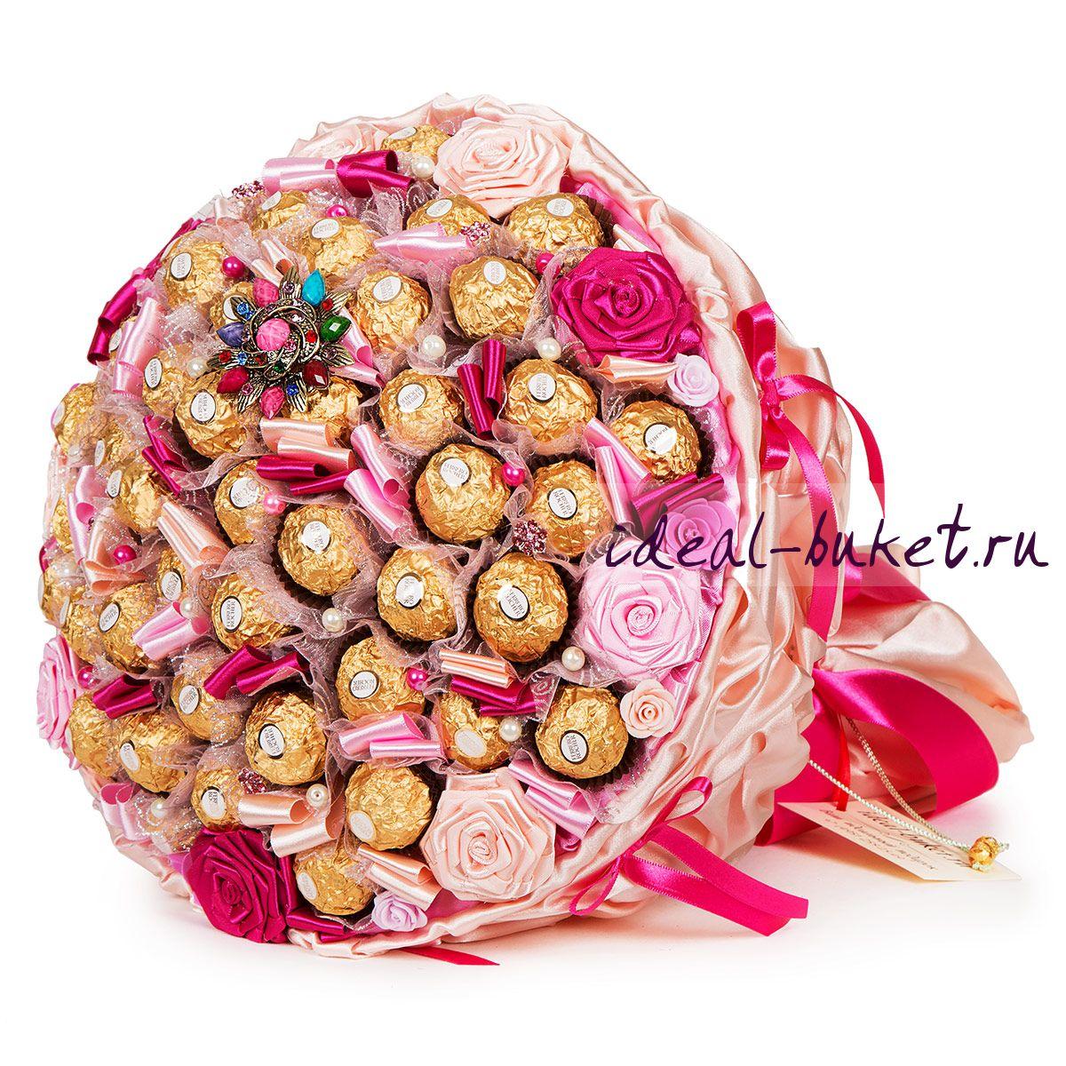Букет из конфет как подарок