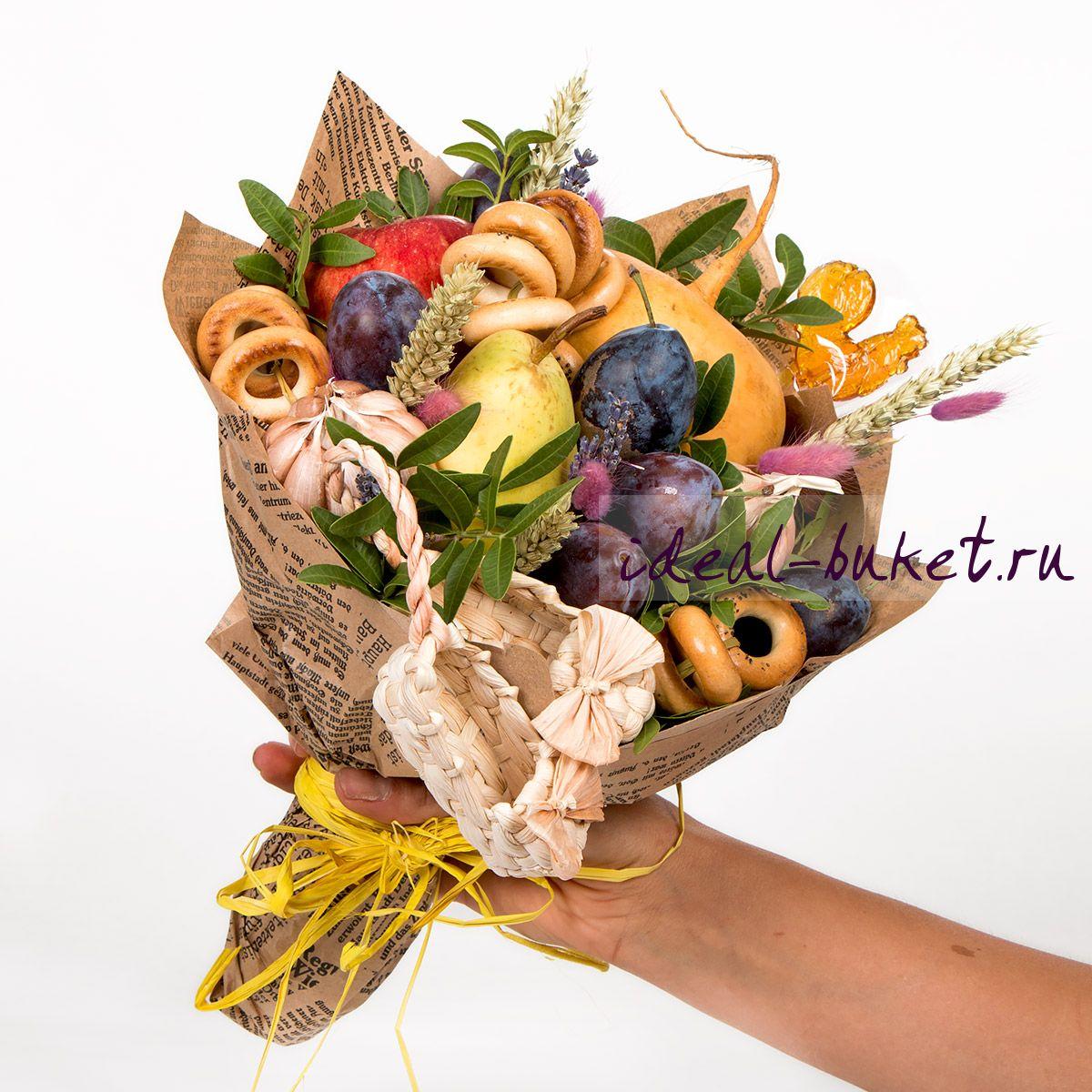 Как сделать букет из овощей