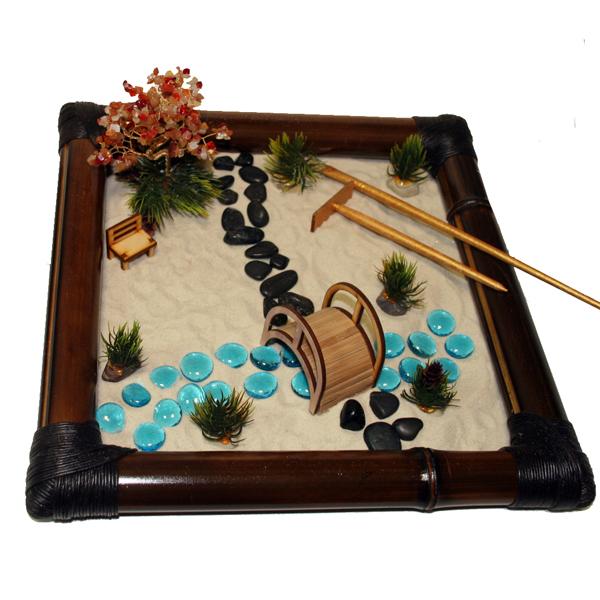 Настольный японский сад камней