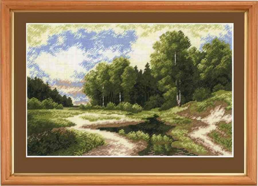 Наборы для вышивки крестом пейзаж 20