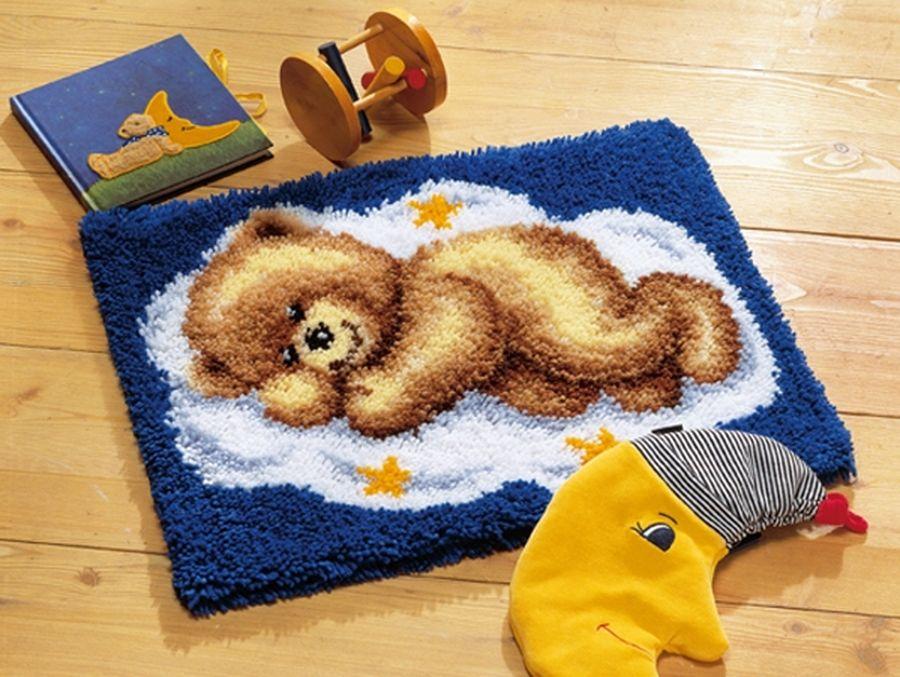 Вышивка крючком ковров 13