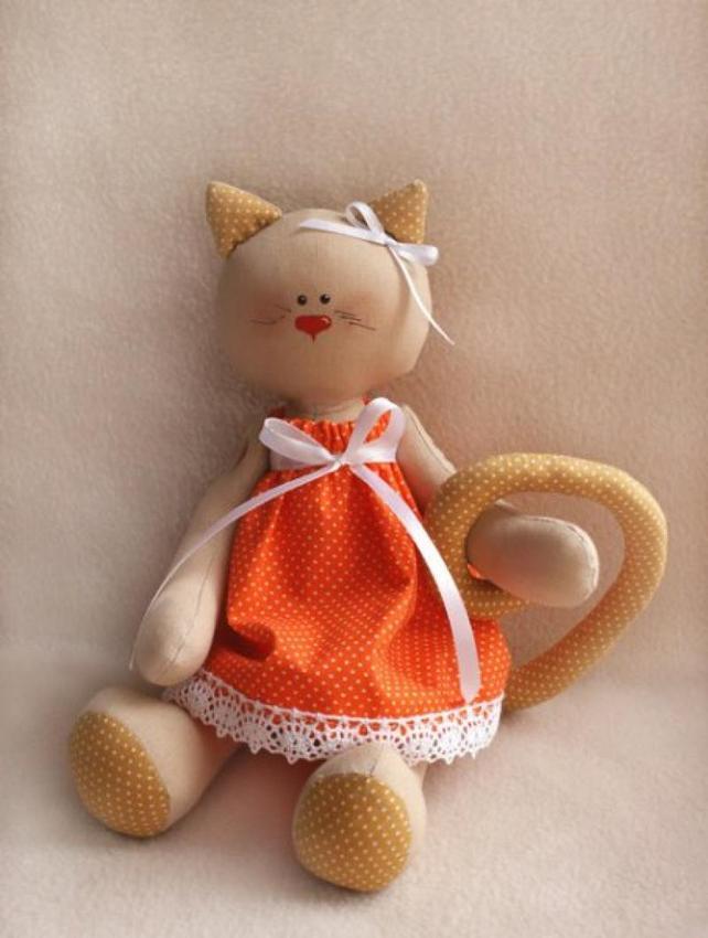 Изготовление игрушек из ткани своими руками