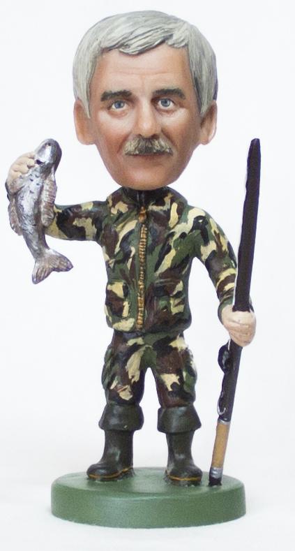 удачливый рыбак статуэтка