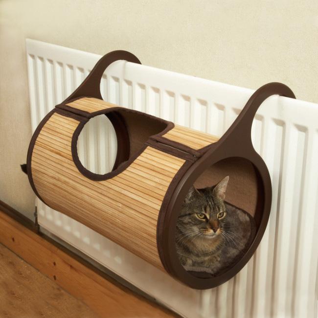 Как сделать туннель для кошек