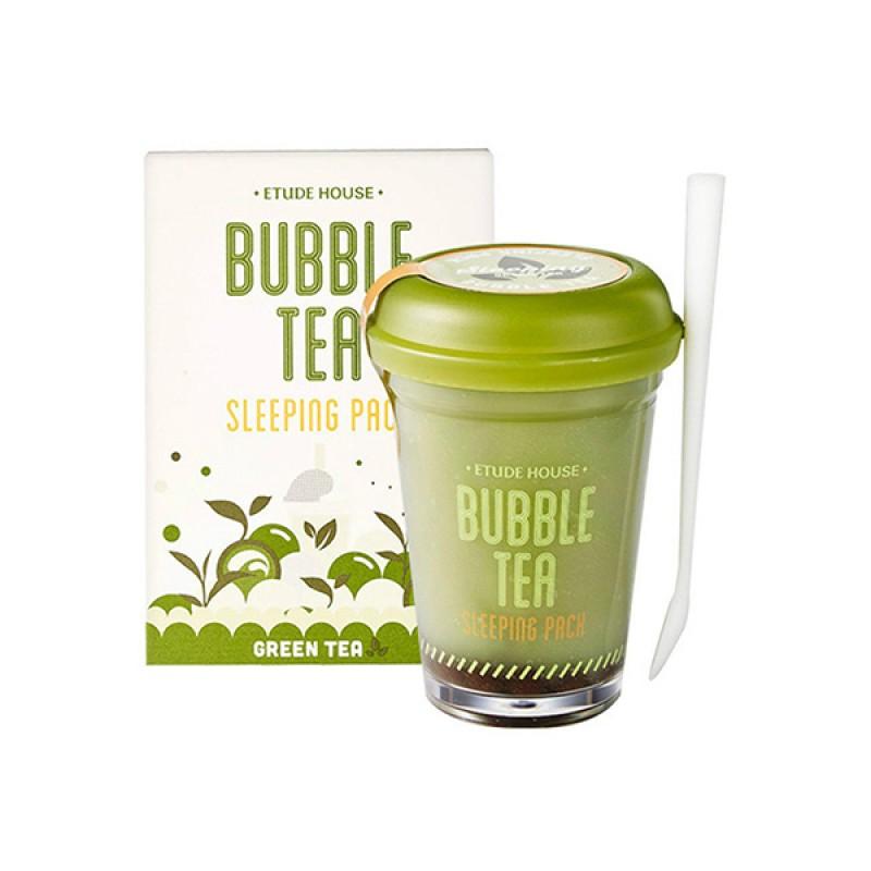 Маски на основ зеленого чаю