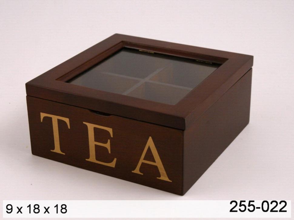 Коробки для чайных пакетиков
