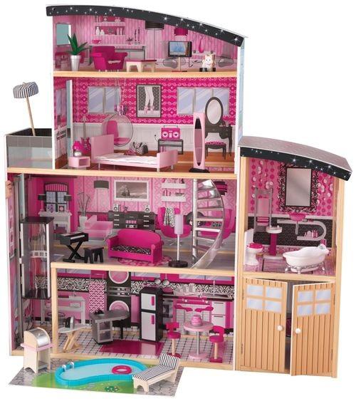Как сделать домик для куклы барби самому