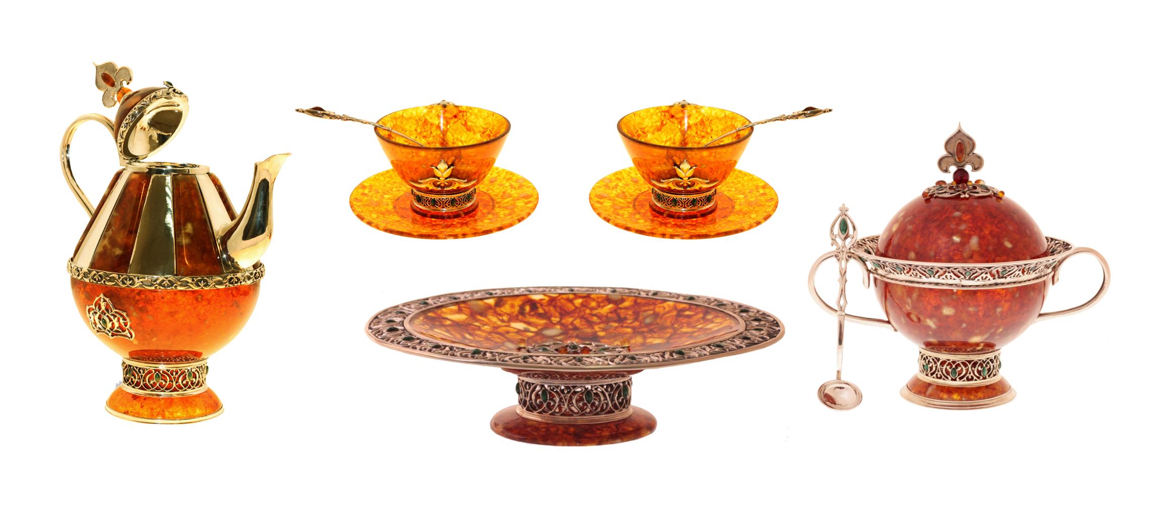 Сравнить цены и купить подарок чайный сервиз вуаль кремовая 23 предмета на 6 персон - mi2-k6981-y3_23-al midori на