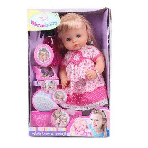 Кукла warm baby с аксессуарами арт