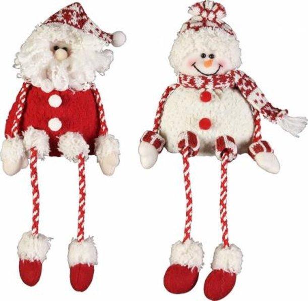 Мягки игрушки новогодние