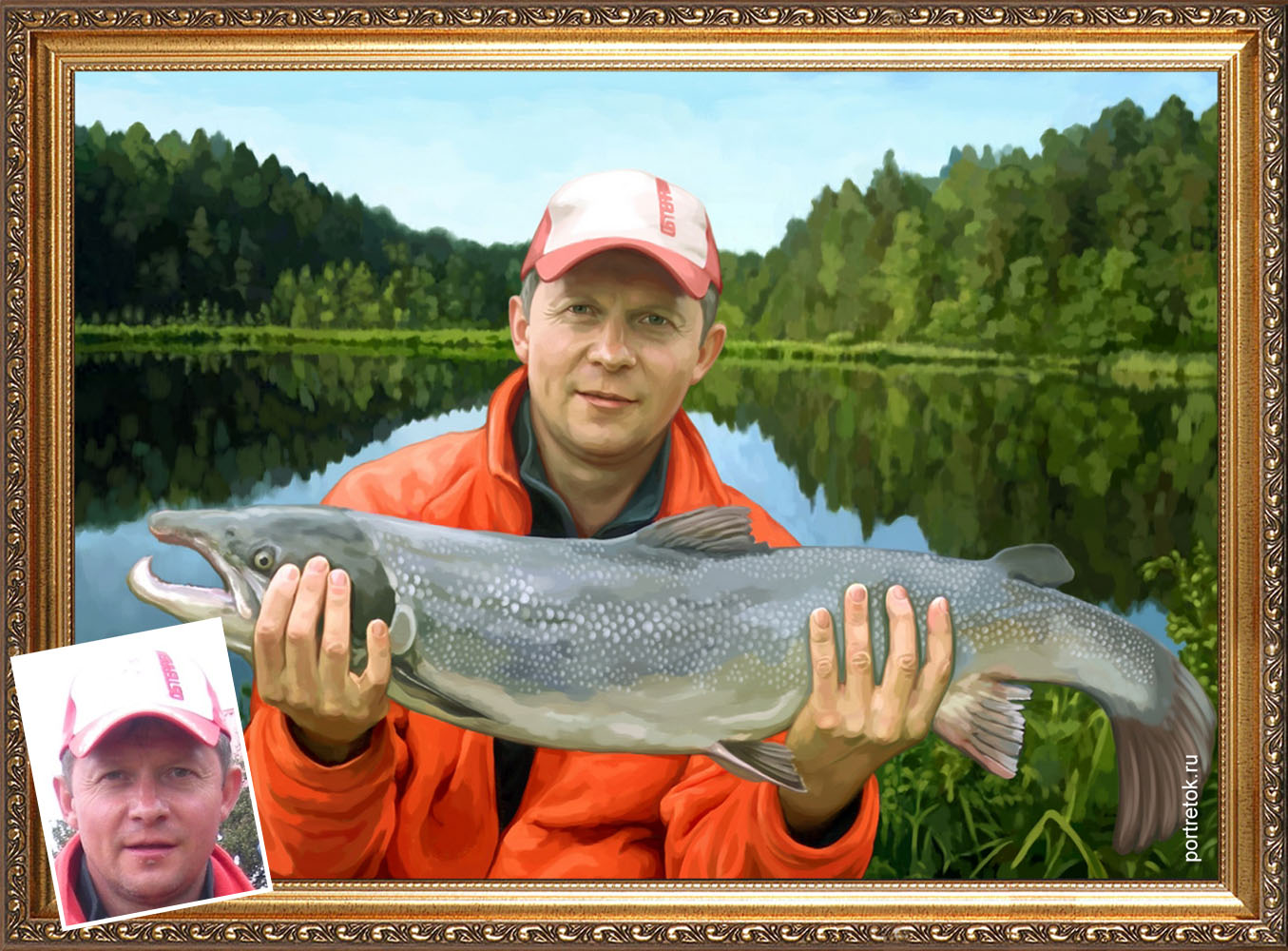 веселый юбилей мужчины рыбака