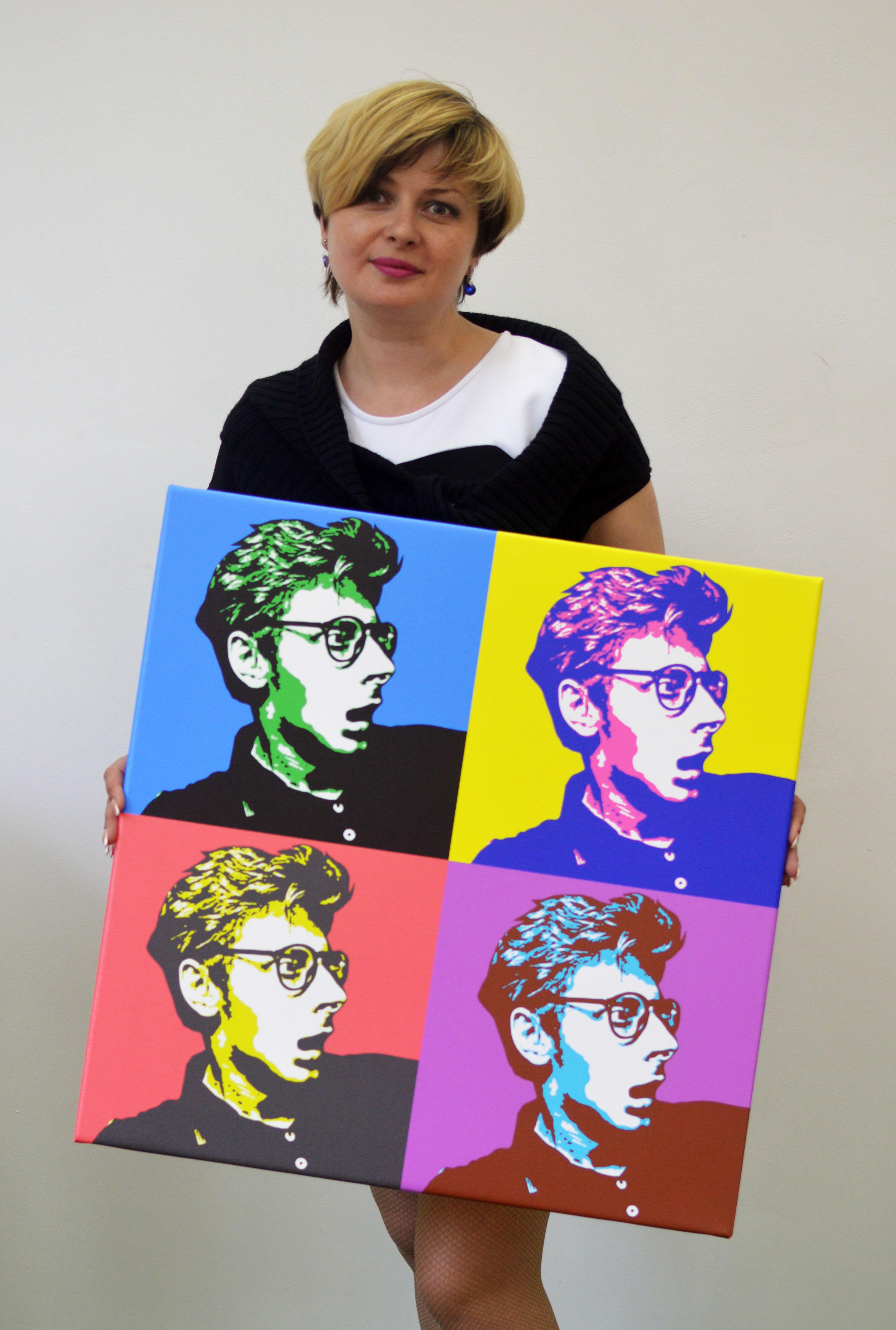 Как сделать в стиле поп-арт вшопе 3 цвета