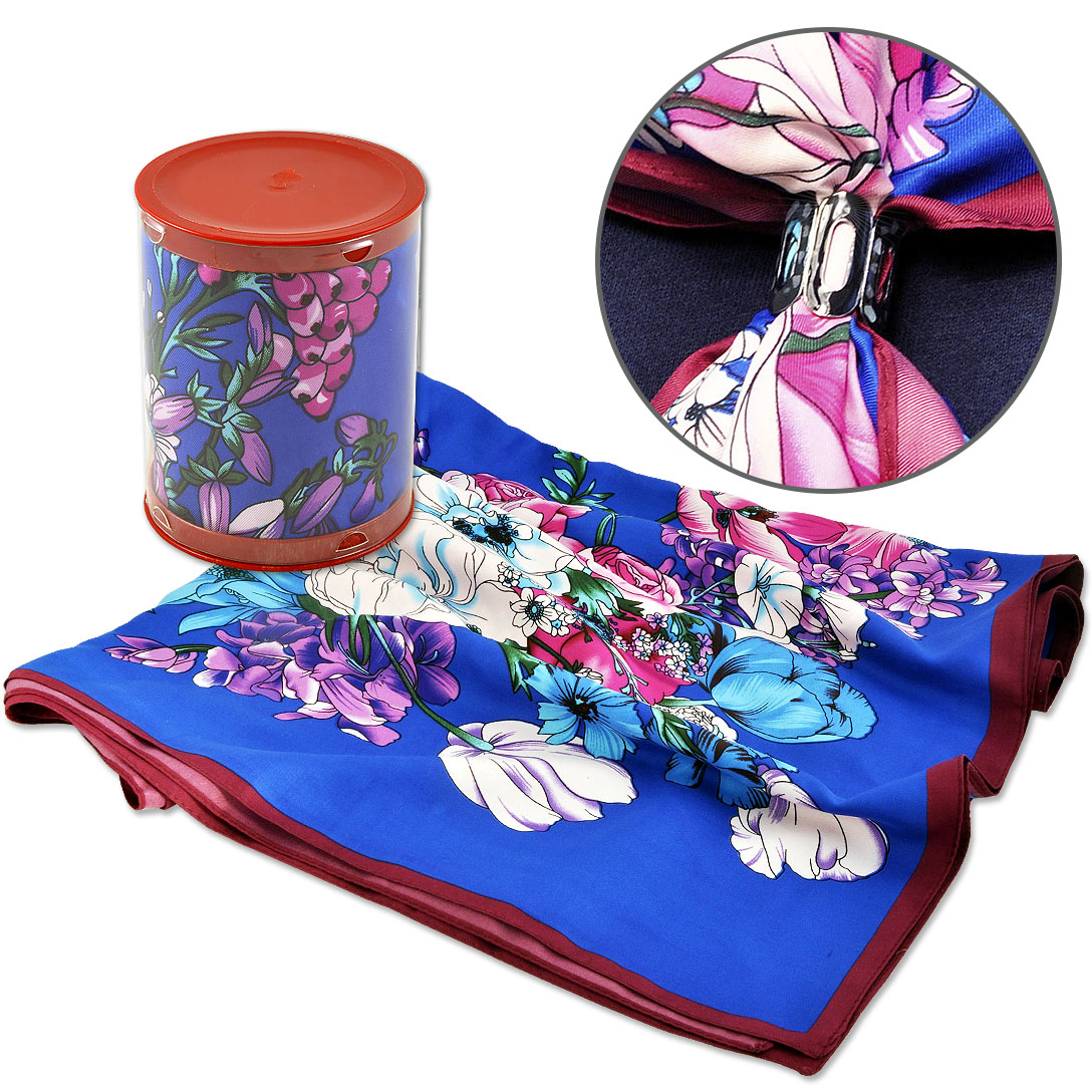 Как упаковать платок для подарка 72