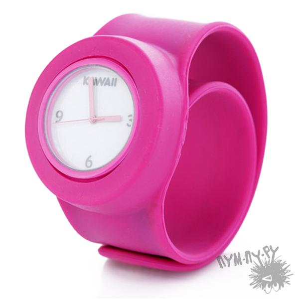 Часы молодежные, силиконовые часы, slap часы, слэп часы - Каваи Фэктори