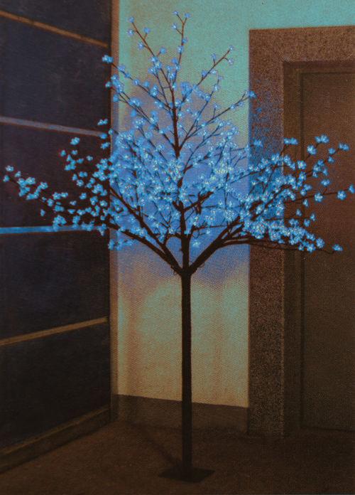 Как сделать светящиеся дерево своими руками видео