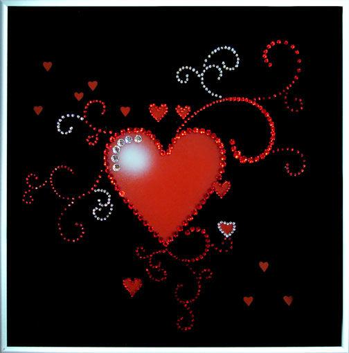 Картины с сердцем