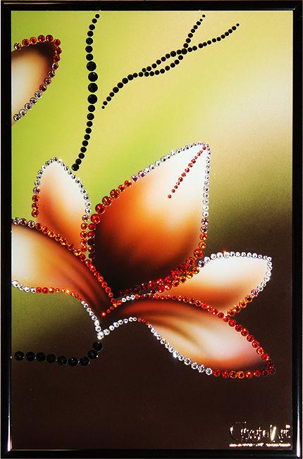 Картины с кристаллами сваровски купить