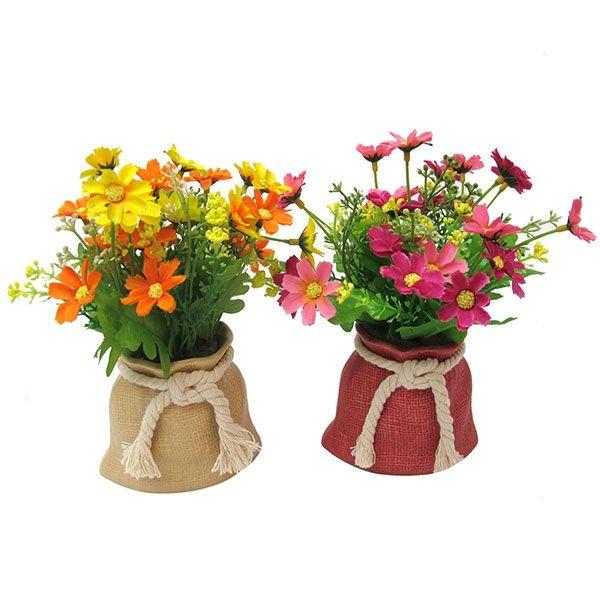 искусственные цветы в горшках для домашнего интерьера врач ГБУЗ