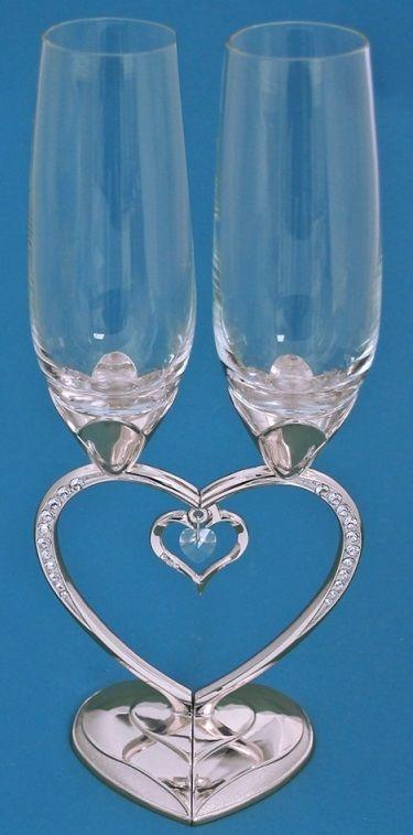 Свадебные бокалы купить в москве