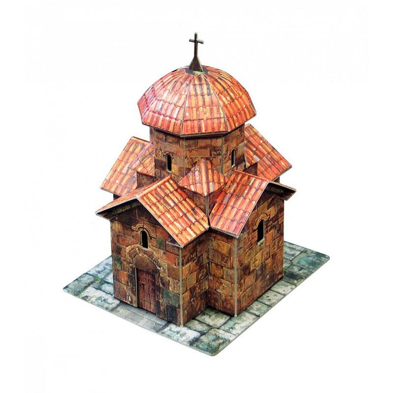 Макет собора из бумаги