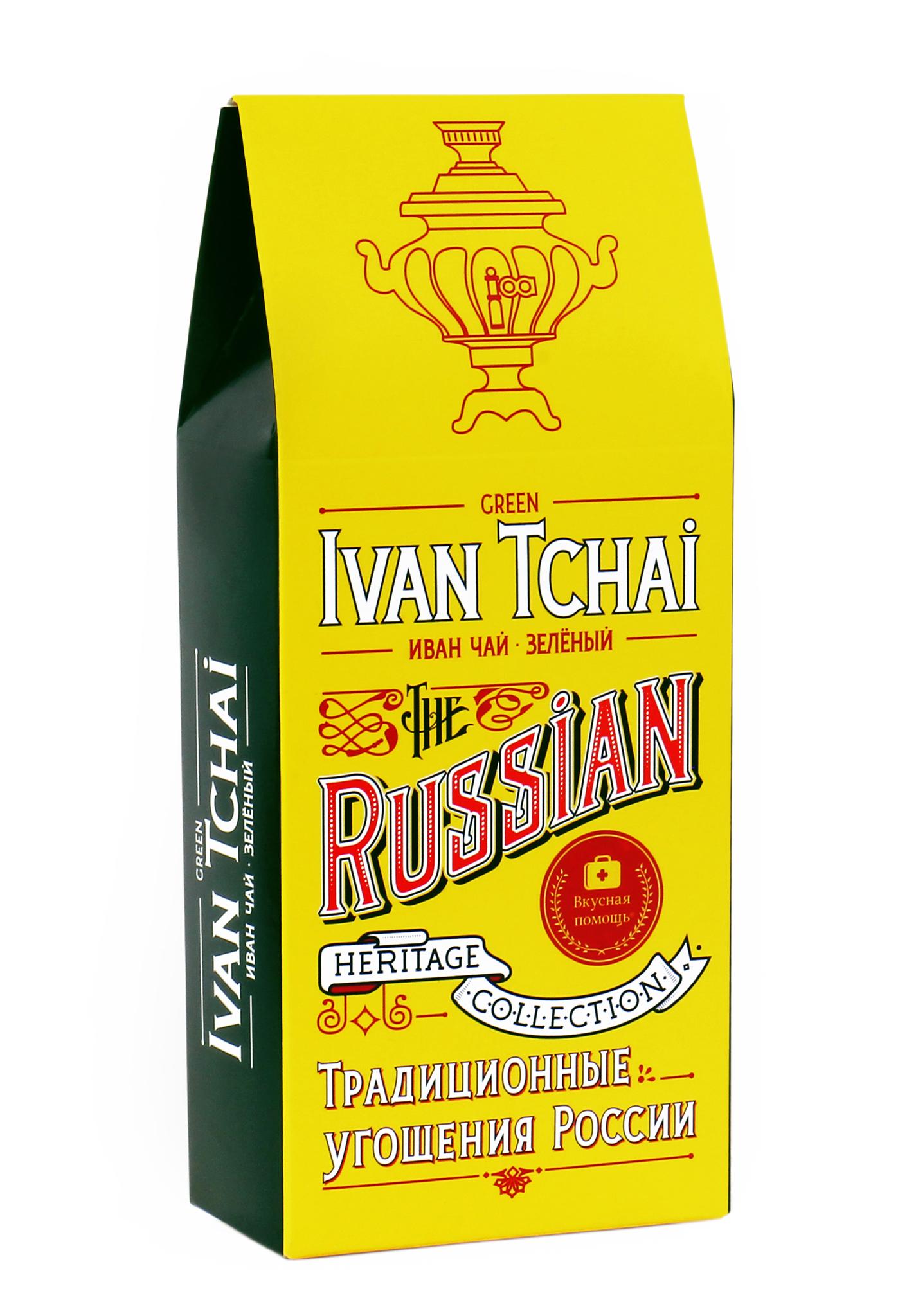 Иван-чай и зелёный чай