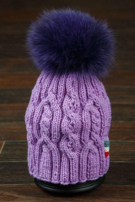 Вязанные шапки светлана