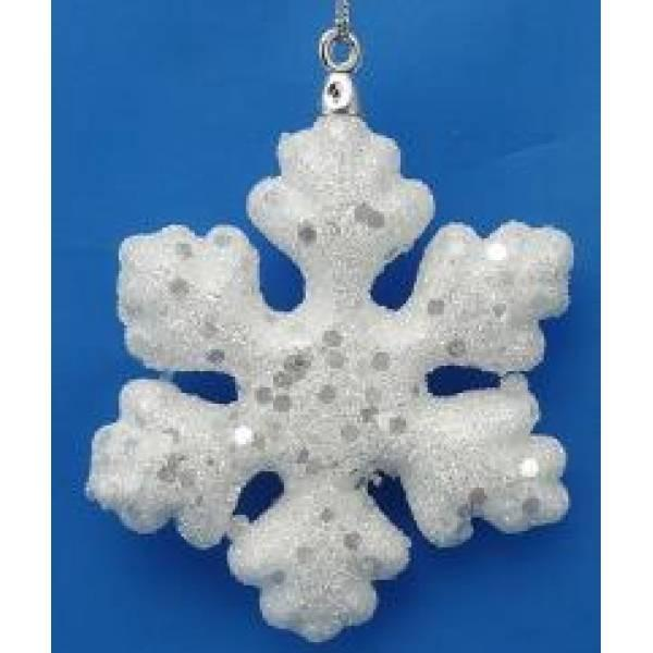 Снежинки в подарок своими руками